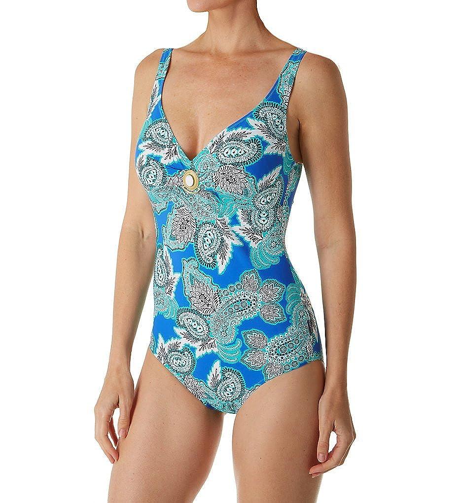 Anita L87810-350 Woherren Woherren Woherren RosaFaia Ocean Blau Paisley Costume One Piece Swimsuit B076HPHX4C Badeanzüge Üppiges Design b73f5a