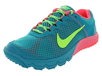 Nike Women's Running Shoes Zoom Wildhorse Tropical Teal/Atomic Red/Flash Lime