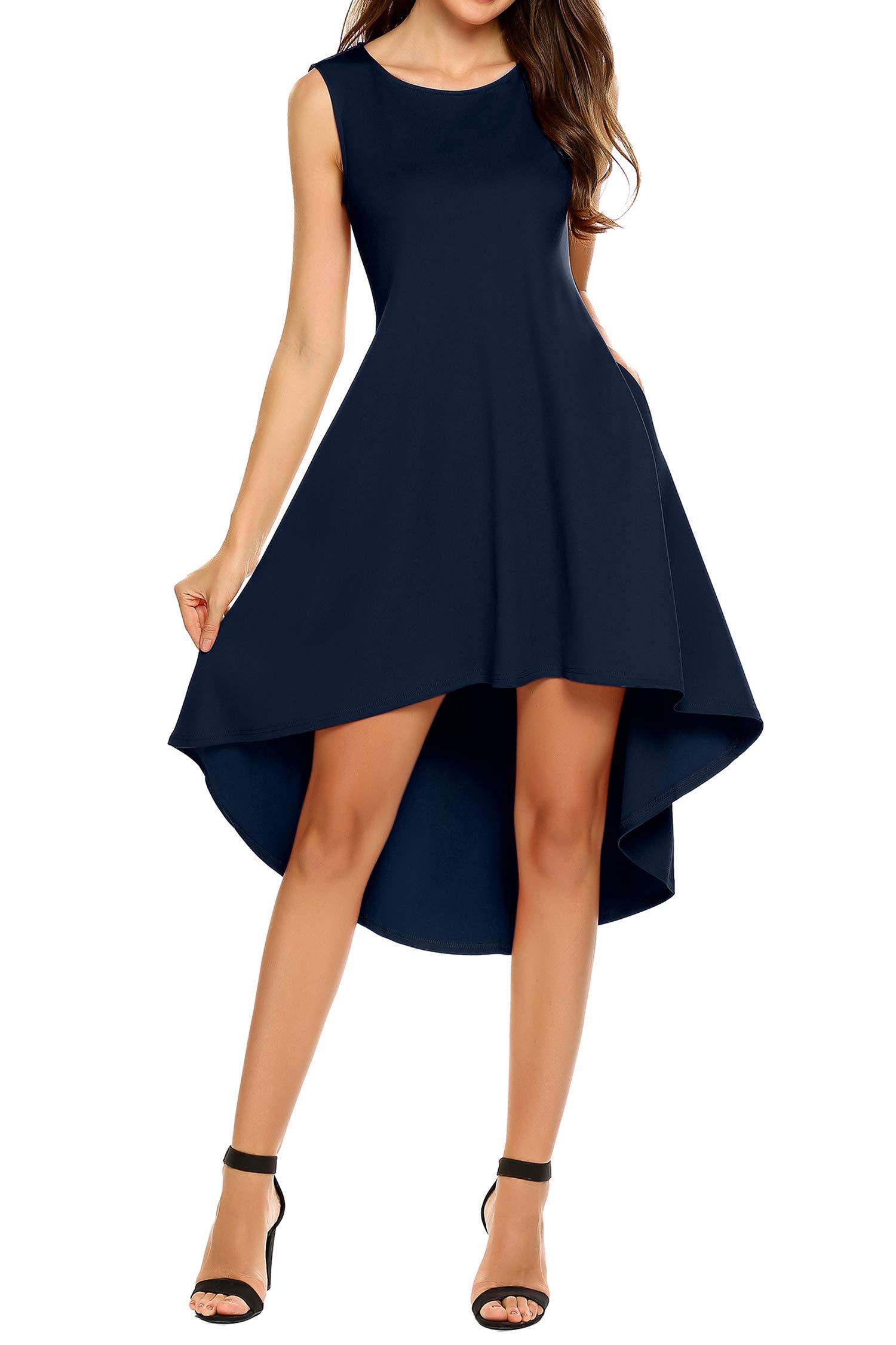 Ein Kleid im Fokuhila-Style