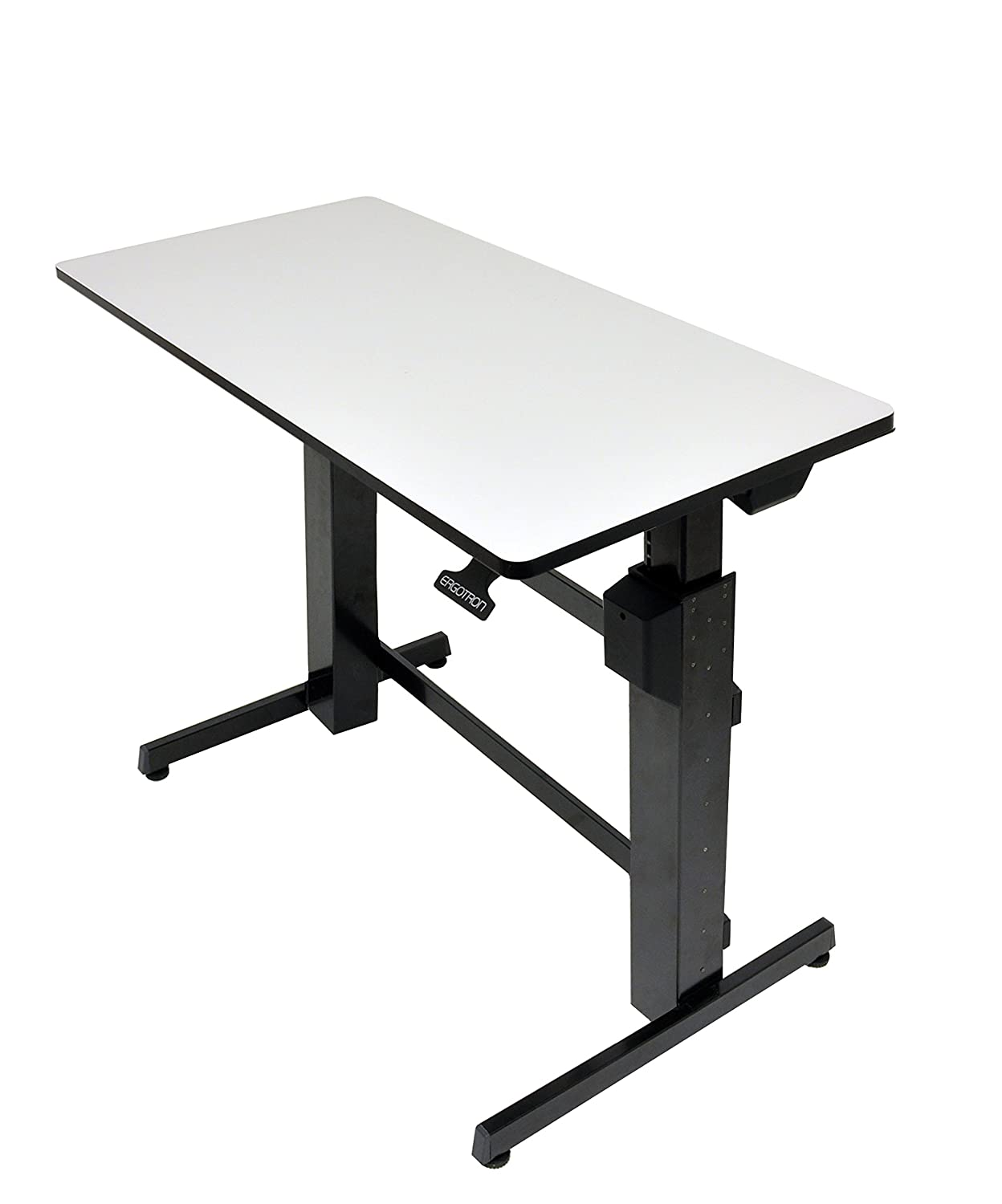 Amazoncom Ergotron Workfit D Sit Stand Desk Light Grey
