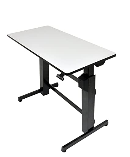 amazon com ergotron workfit d sit stand desk light grey rh amazon com ergotron workfit-d sit-stand desk review
