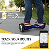 Swagtron T580 App-Enabled Hoverboard w/Speaker