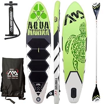 Aqua Marina prosperar SUP hinchable Stand Up Paddle Tabla de ...