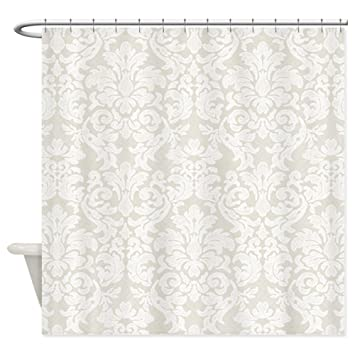 beige and white shower curtain. CafePress  lace pattern white beige Shower Curtain Decorative Fabric Amazon com