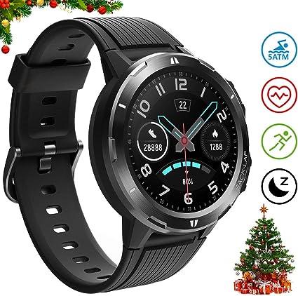 UMIDIGI Uwatch GT, Smart Watch 5ATM Waterproof Fitness Tracker with Pedometer Heart Rate Monitor Sleep Tracker, Ultra-Long Battery Life, Smartwatch ...