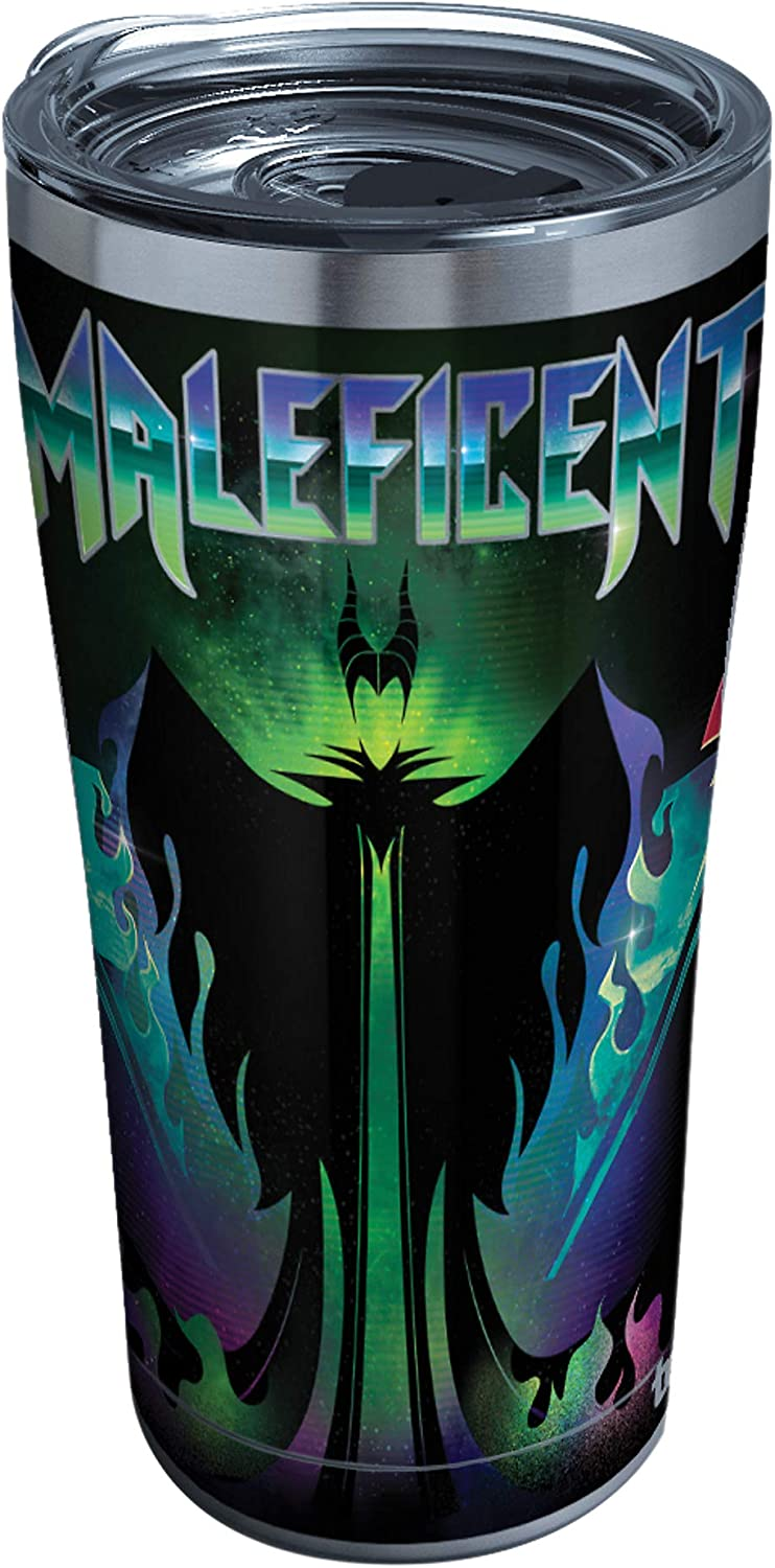 Tervis Disney Villains Triple Walled Insulated Tumbler, 20oz - Stainless Steel, Maleficent