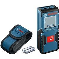 Bosch Professional Laserafstandsmeter GLM 30 (bediening met één knop, meetbereik: 0,15–30 m, 2x 1,5 V batterijen…