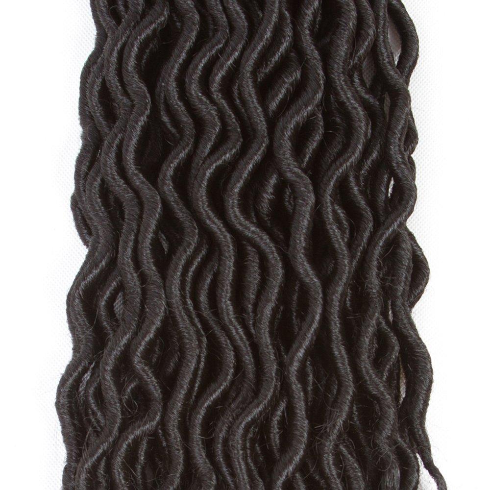 Amazon Freefree 6packs 20 Goddess Locs Crochet Hair Wavy