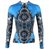 Cycling Jersey, QinYing Women Patterns Stylish Breathable Long Sleeve Bicycle Shirt