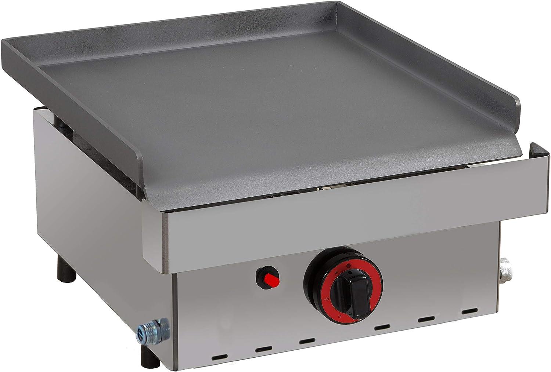 Plancha a gas industrial cocina - Maquinaria Bar Hostelería