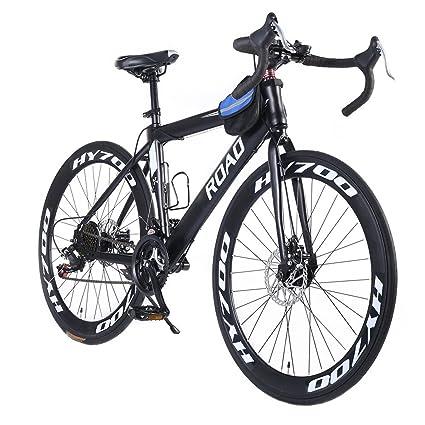 Amazon.com : OPATER Racing Road Bike 26″ 24 Speed 700c Heavy Duty ...