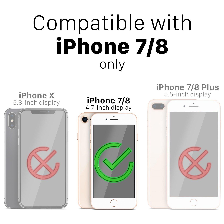 Iphone 8 Wallet Case 7 Vena Xr Spigen Anti Shock With Card Slot Slim Armor Cs Casing Black Vcommutemilitary Grade Drop Protection Flip Leather Cover Holder Kickstand