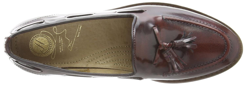Hudson Slipper Damen Standford Hi Shine, Slipper Hudson Rot (Bordo) 430b0a