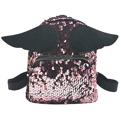high-quality LtrottedJ Fashion Girl Squins School Bag Backpack Satchel Women Trave Shoulder Bag