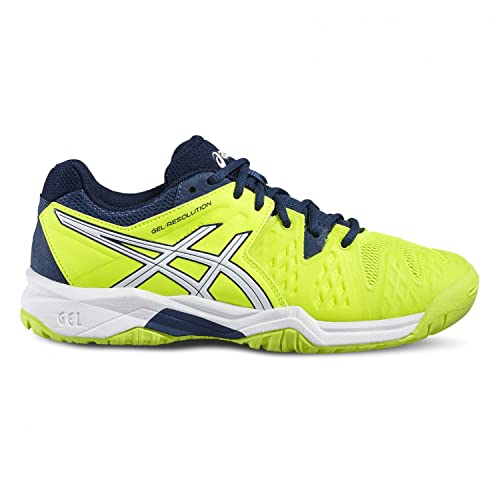 921b2c5d310cc ASICS Gel-Resolution 6 GS Junior Scarpe da Tennis  Amazon.it  Sport e tempo  libero