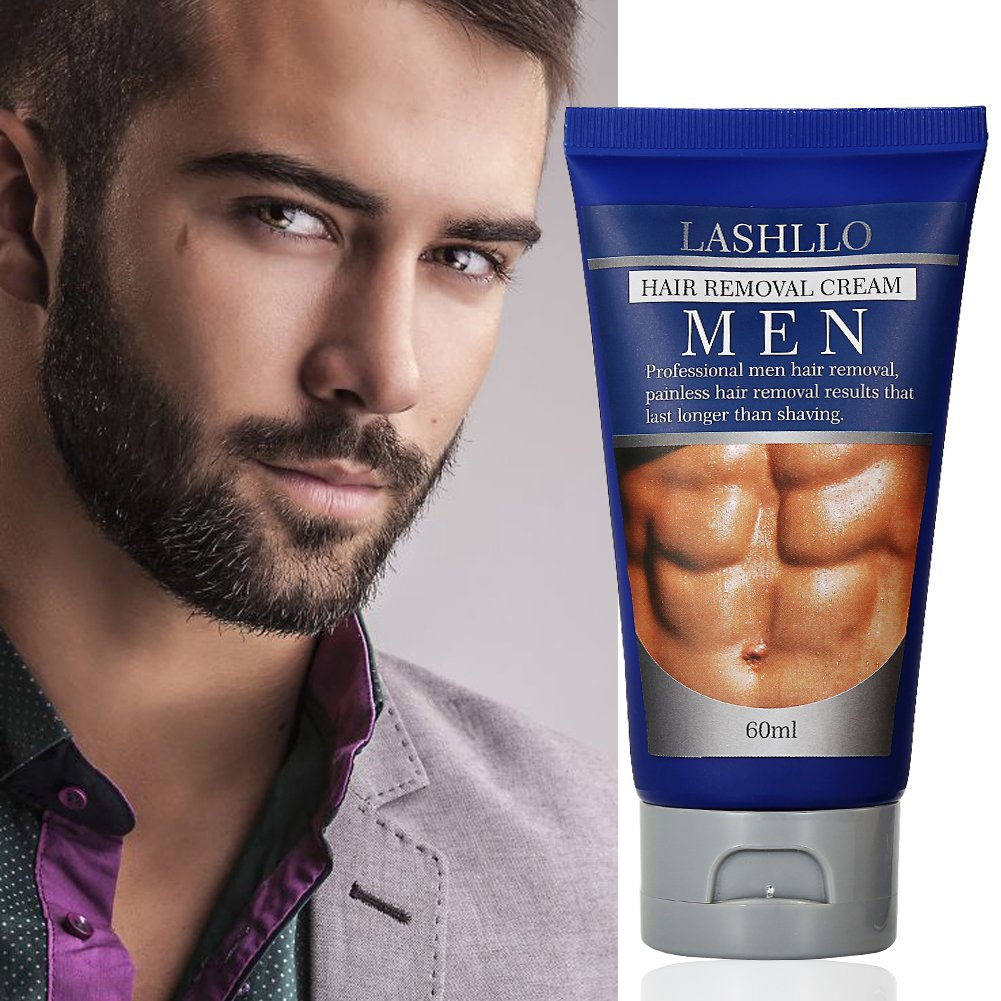 Facial hair removal men