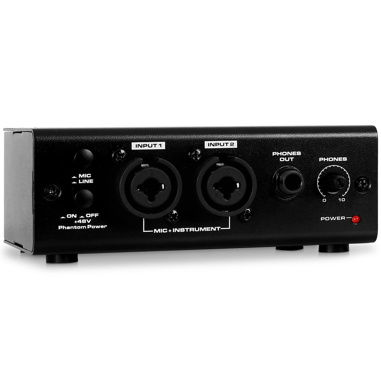 Jammin Pro Tarjeta de Sonido-USB micrófono XLR PC Mac ...
