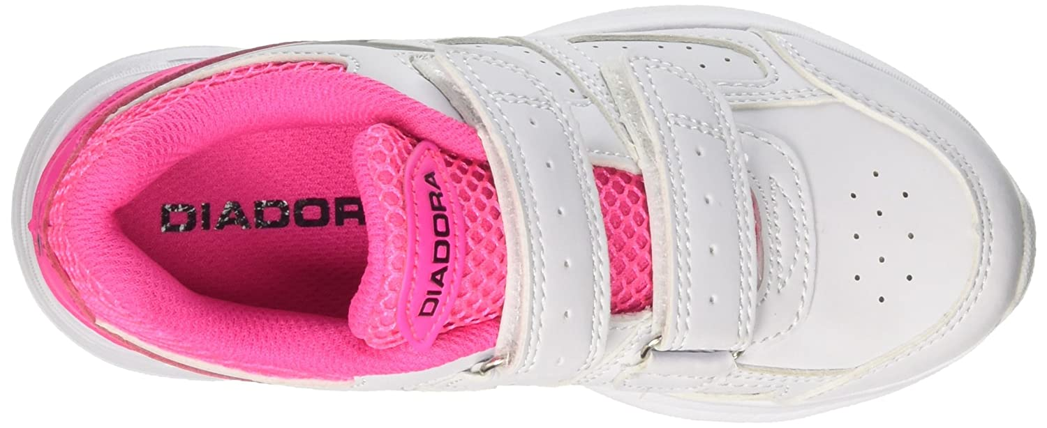 Diadora Scarpe Kids Sneakers Shape 8 SL JR in Pelle Bianca 101172076-01-C3772   Amazon.co.uk  Shoes   Bags 2e746f02027