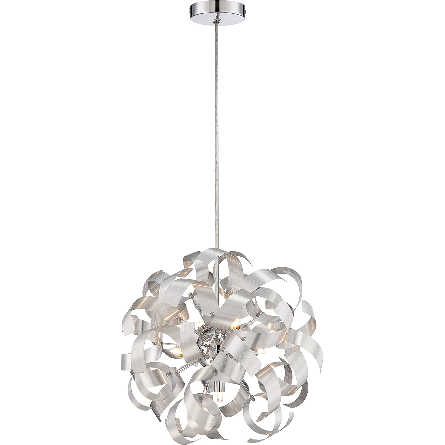 Quoizel RBN2817MN Ribbons with Millenia Finish Pendant and 5