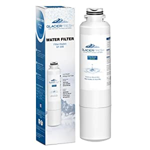 GLACIER FRESH DA29-00020B Water Filter Replacement, NSF 42 Certified Compatible Samsung Filter DA29-00020B, HAF-CIN EXP Water Filter, DA97-08006A Water Filter, 04609101000, 09101, 46-9101 (1 Pack)