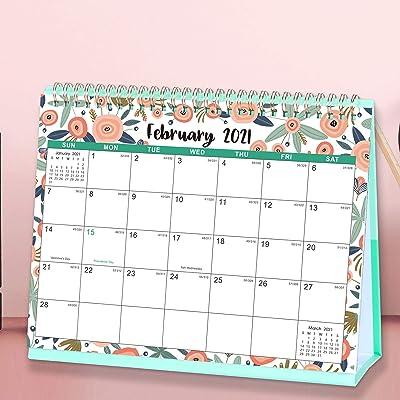 2022 Desktop Calendar.Buy Desk Calendar 2021 2022 Standing Flip 2021 2022 Desktop Calendar With Thick Paper Jan 2021 Jun 2022 10 X 8 3 Memo Pages Stand Up Desk Calendar With Strong Twin Wire Binding Blank Blocks Online In Indonesia B08h4t4gk6