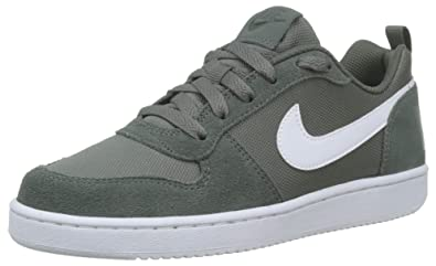 the latest b0b24 f9f54 Nike Court Borough Low PE (GS), Chaussures de Basketball bébé garçon, Vert