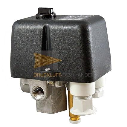 Condor MDR 2/11 pt5000 Interruptor de presión para compresores Incluye Válvula de alivio EV
