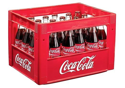24 x Coca-Cola Classic 0.33L caso original botella de cristal: Amazon.es: Alimentación y bebidas