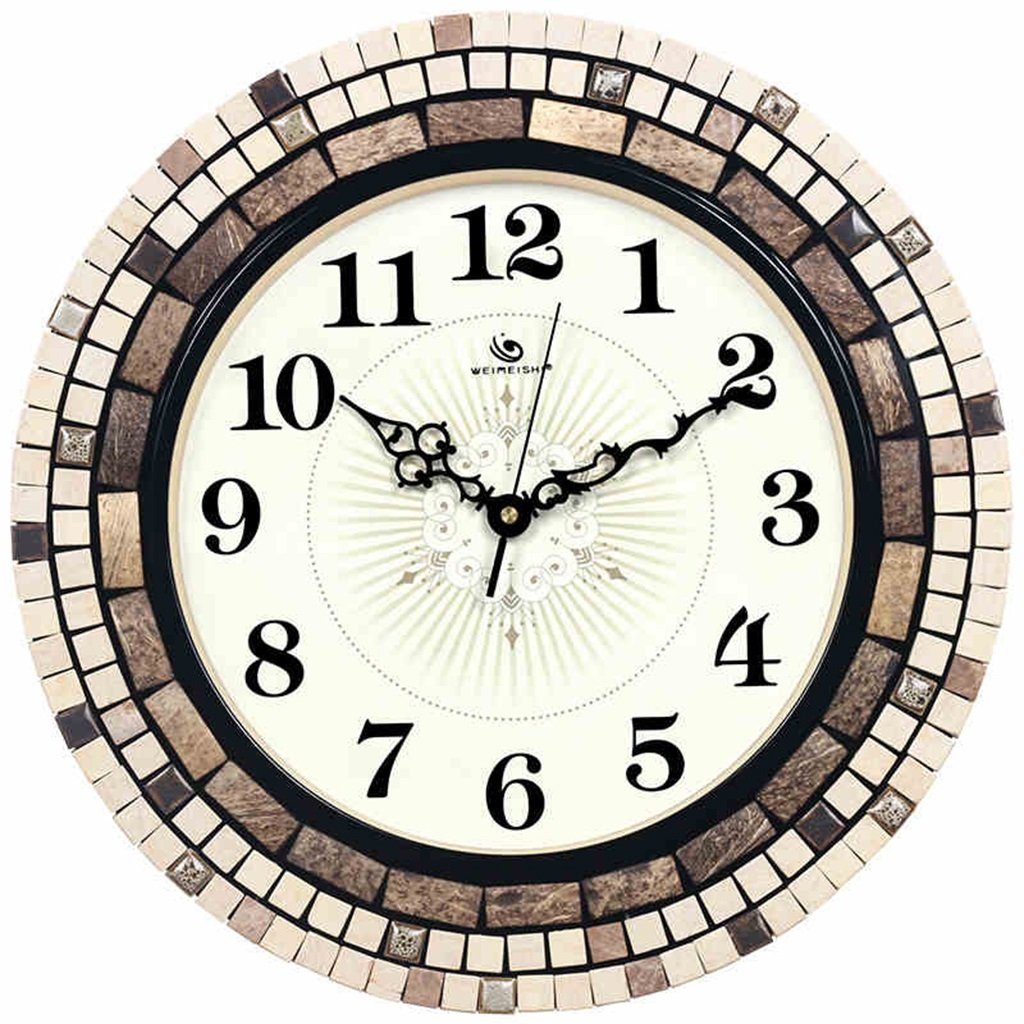 SESO UK- Modernes Design Kunst Kreative Stille Wanduhr Quarzuhren 16 zoll / 41 cm
