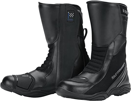 10//Black Tour Master Solution WP Air Road Boots