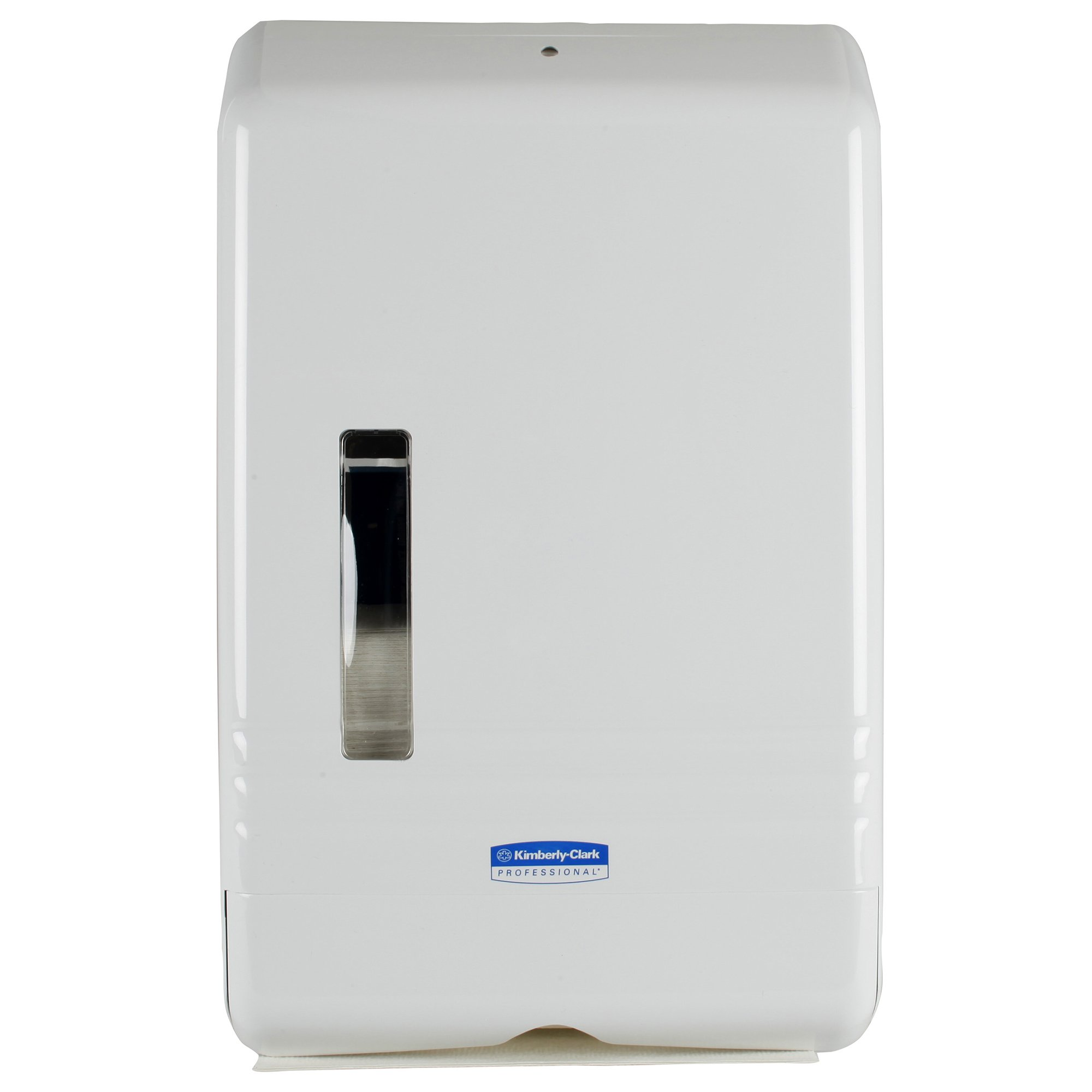 SlimFold Folded Paper Towel Dispenser (06904), Compact, One-at-a-Time Manual Dispensing, White