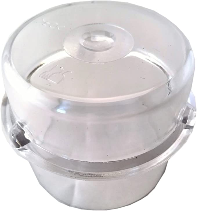 Vaso medidor para tapa para Thermomix TM21, TM31, TM3300 (100 ml): Amazon.es