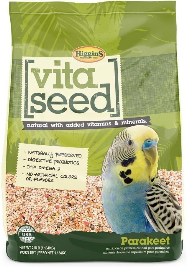 Higgins Vita Seed Parakeet Food