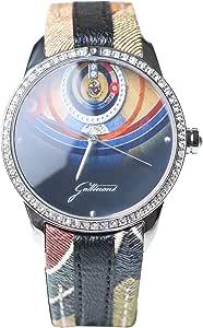 Gattinoni Casual Watch for Women - Leather, W0262GSTBLK
