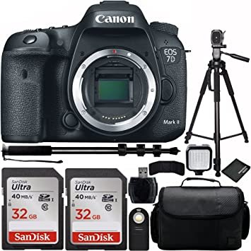 Wholesale Photo Canon EOS 7D Mark II cámara réflex Cuerpo Bundle ...
