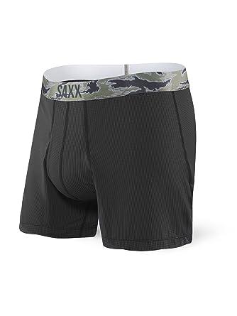 letzte auswahl von 2019 viel rabatt genießen stylistisches Aussehen Saxx Underwear Men's Quest Boxer Brief Black