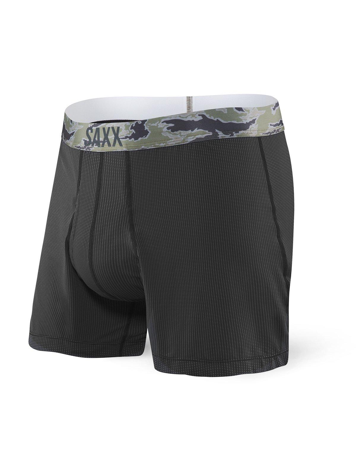 Saxx Underwear Loose Cannon Men's Boxer Ballpark Pouch Black Small