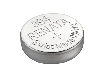 Renata 1.55V 394 SR 936 SW Button Cell (Silver), Set of 2 Pieces General Purpose Batteries & Battery Chargers at amazon