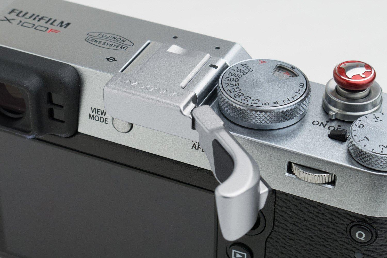 Fujifilm X100F Thumb Grip by Lensmate - Silver by LESNMATE