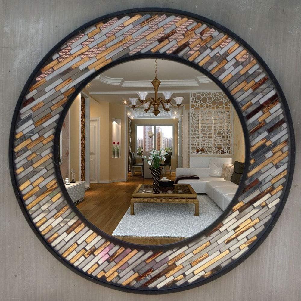 MIIAOPAI Schminkspiegel Einseitiger Badspiegel FüR Die Wandmontage Im Badezimmer A