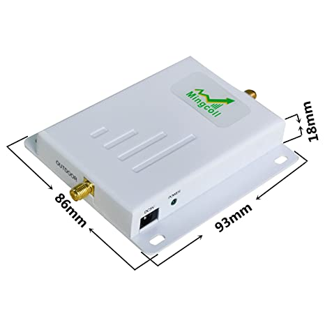 Amazon.com: Mingcoll 4G LTE Signal Booster ATT T-Mobile 700MHz Band 12/17 Cell Phone Signal Booster FDD High Gain at&T Cellular Mobile Signal Amplifier ...