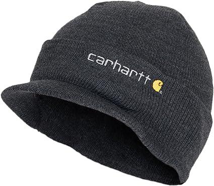 Carhartt Gorro de invierno con pantalla gris cha164clh Gorro de ...