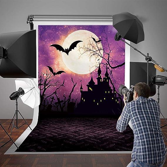 Allenjoy 2 4 X 3 M Nacht Halloween Motto Hintergrund Kamera
