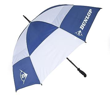 Dunlop Deluxe Double - Paraguas de golf y acampada, color azul
