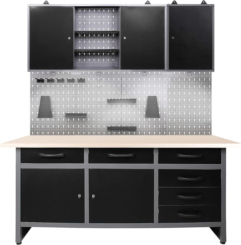 Mesa de trabajo para taller: Amazon.es: Bricolaje y herramientas