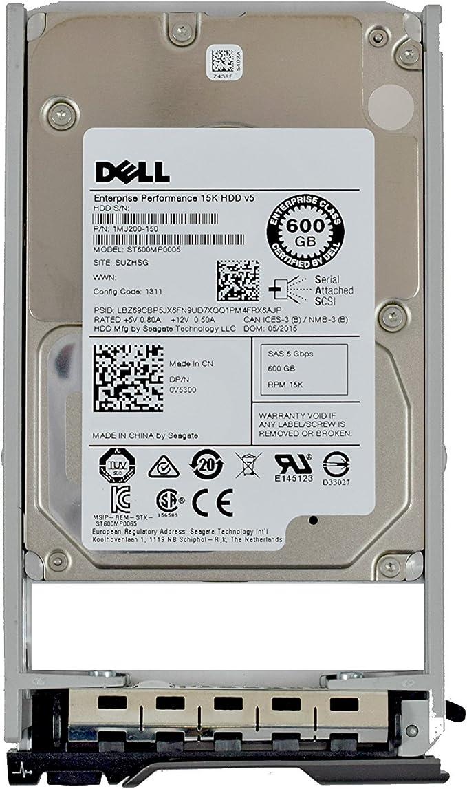 DELL V5PF0 Original Dell Zero-Hours 600GB 10K SAS 2.5 HD w Tra