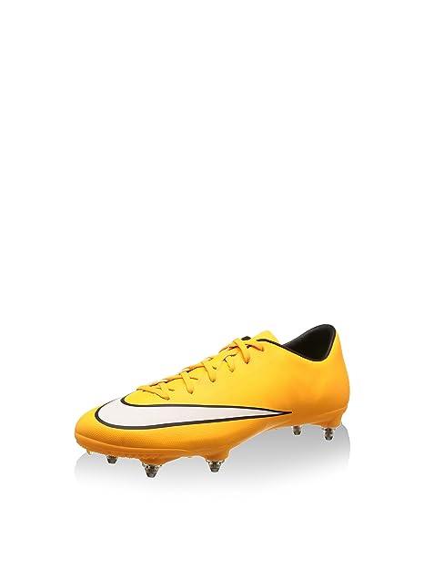 bd991478f Nike Scarpa da Calcio Mercurial Victory V SG (Xm31.2) Giallo Bianco