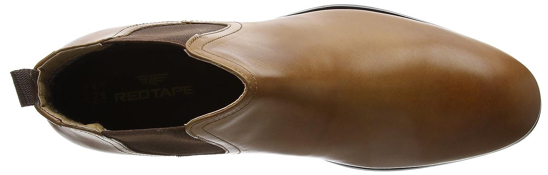 Red Tape Herren Braun Beeston Chelsea Boots, Schwarz Braun Herren (Tan 0) 9c393f