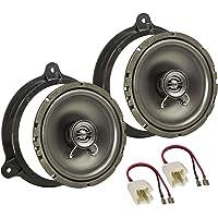 tomzz Audio 4009–000Altavoz Set de instalación para Dacia