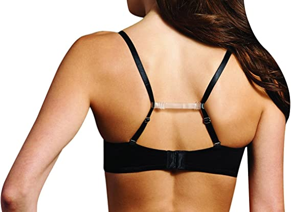 Maidenform Women's Bra Strap Holder, Clear, One Size at Amazon Women's  Clothing store